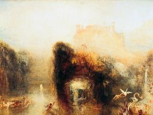 Queen Mab's Cave, 1846 by J. M. W. Turner