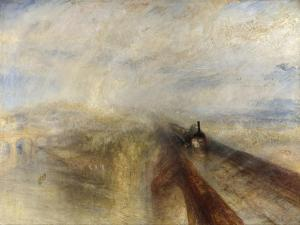 Rain, Steam, and Speed, the Great Western Railway, 1844 by J. M. W. Turner