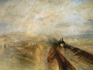 Rain, Steam, and Speed by J. M. W. Turner
