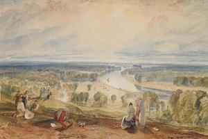 Richmond Hill, C.1825 by J^ M^ W^ Turner