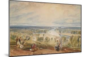 Richmond Hill, C.1825 by J^ M^ W^ Turner