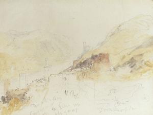 Rudesheim on the Rhine by J. M. W. Turner