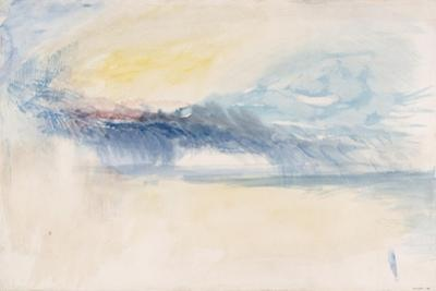 Sea and Sky by J. M. W. Turner
