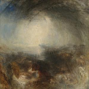 Shade and Darkness - the Evening of the Deluge by J. M. W. Turner