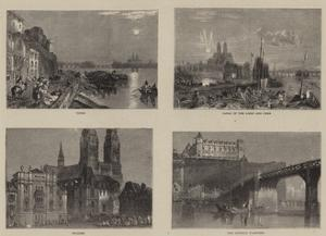 Sketches on the Loire by J^ M^ W^ Turner