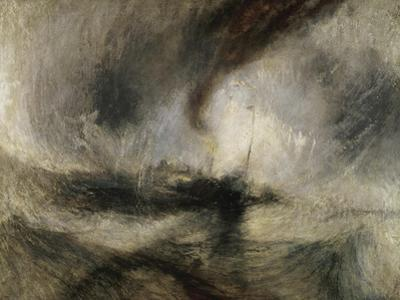 Snow Storm: Steam-Boat Off a Harbour's Mouth by J. M. W. Turner