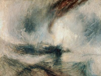 Snowstorm at Sea, 1842 by J. M. W. Turner