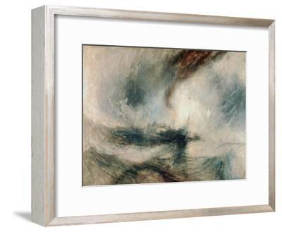 Snowstorm at Sea, 1842