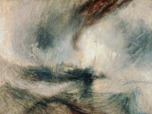 Snowstorm at Sea, 1842 by J^ M^ W^ Turner