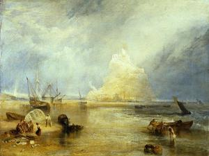 St. Michael's Mount, c.1824 by J^ M^ W^ Turner