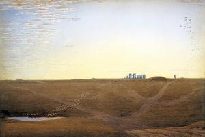 Stonehenge at Twilight by J^ M^ W^ Turner