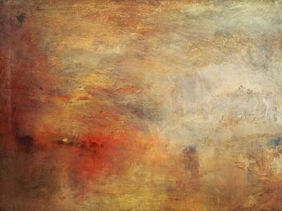 Sundown over a Lake, 1840