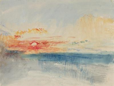 Sunset, C.1845