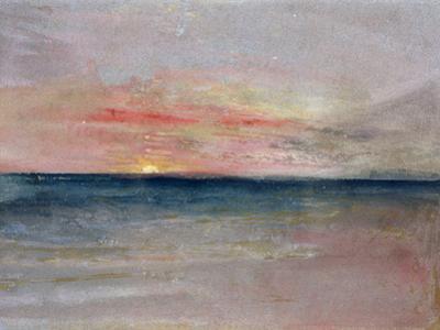 Sunset by J. M. W. Turner