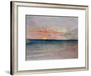 Sunset by J^ M^ W^ Turner
