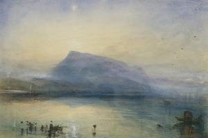 The Blue Rigi, Sunrise by J. M. W. Turner