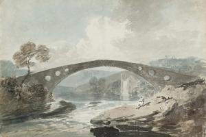 The Bridge at Pontypridd by J. M. W. Turner