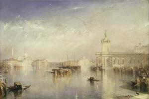 The Dogano, San Giorgio, Citella, from the Steps of the Europa by J. M. W. Turner