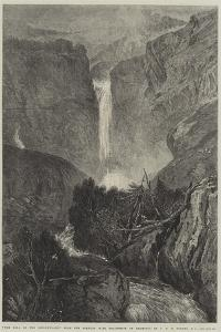 The Fall of the Reichenbach by J^ M^ W^ Turner