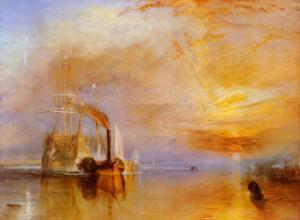 The Fighting Temeraire by J^ M^ W^ Turner