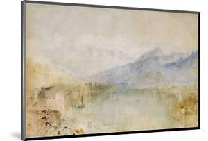 The Lake of Thun, Switzerland by J. M. W. Turner