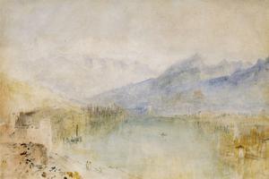 The Lake of Thun, Switzerland by J^ M^ W^ Turner