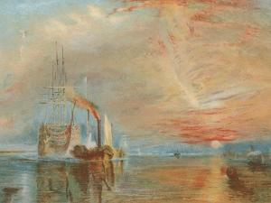 The Old Temeraire Tugged to Her Last Berth by J^ M^ W^ Turner