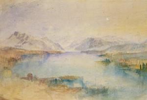 The Rigi, Lake Lucerne by J^ M^ W^ Turner