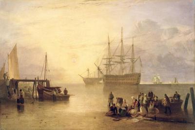 The Sun Rising Through Vapour, C.1809 by J^ M^ W^ Turner