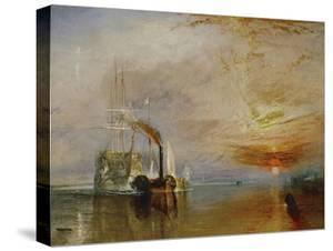 The Temeraire Towed to Her Last Berth (AKA The Fighting Temraire) by J^ M^ W^ Turner