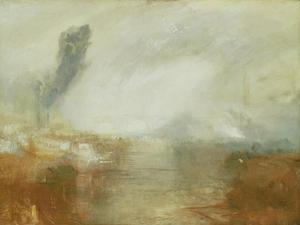 The Thames Above Waterloo Bridge by J. M. W. Turner