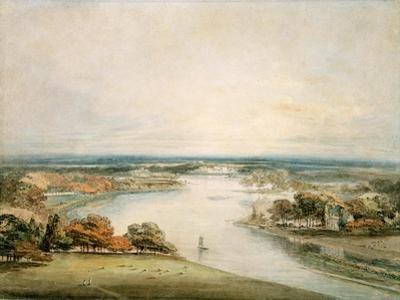 The Thames from Richmond by J. M. W. Turner