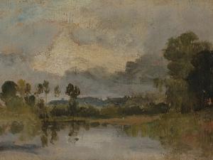 The Thames Near Windsor by J. M. W. Turner