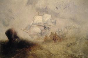 The Whale Ship by J. M. W. Turner