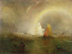 The Wreck Buoy by J. M. W. Turner