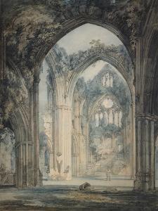 Transept of Tintern Abbey by J. M. W. Turner