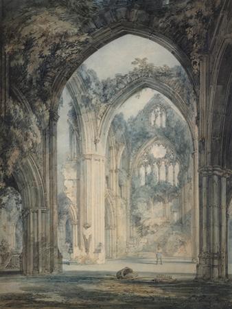 Transept of Tintern Abbey by J^ M^ W^ Turner