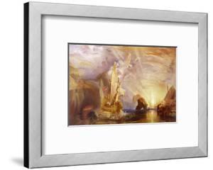 Ulysses Deriding Polyphemus by J^ M^ W^ Turner
