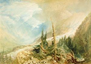 Valley of Chamouni, C.1808 by J. M. W. Turner