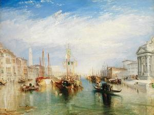 Venice, from the Porch of Madonna della Salute, c.1835 by J^ M^ W^ Turner