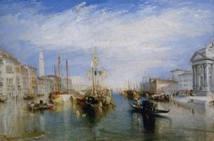 Venice, from the Porch of Madonna Della Salute, Ca. 1835 by J. M. W. Turner