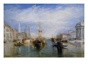 Venice, from the Porch of Madonna Della Salute, Ca. 1835 by J. M. W. Turner
