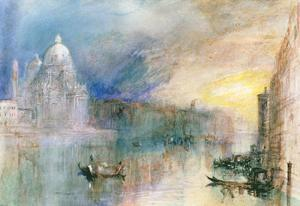 Venice, Grand Canal by J^ M^ W^ Turner