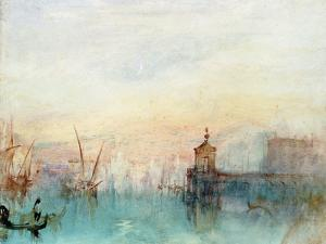 Venice with a First Crescent Moon by J. M. W. Turner