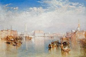 View of Venice: the Ducal Palace, Dogana and Part of San Giorgio, 1841 by J^ M^ W^ Turner