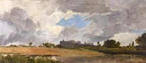 Windsor from Lower Hope by J. M. W. Turner
