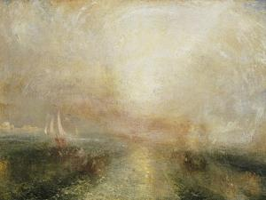 Yacht Approaching the Coast by J^ M^ W^ Turner