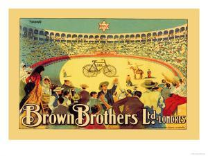 Brown Brothers Bicycles by J. Muntanya