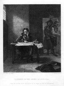 Napoleon in Prison at Nice, France, 1794 by J Outrim