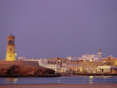 Al-Ayjah Lighthouse, Sour, Oman, Middle East by J P De Manne